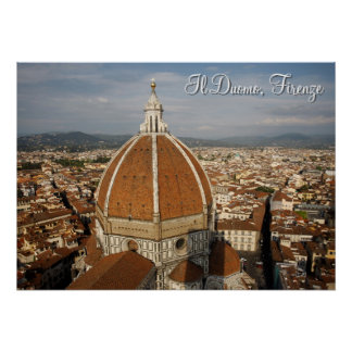 Il Duomo - Florence Poster
