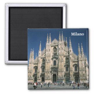 """""""Il Duomo, Milano"""" Square Magnet"""