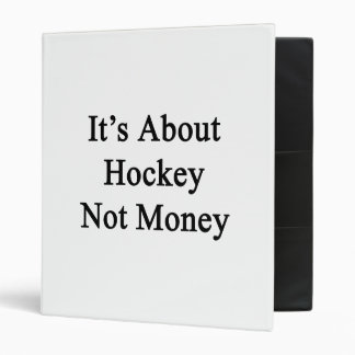 Il est au sujet d'argent d'hockey pas