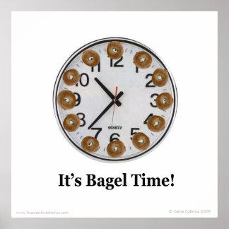 Il est temps de bagel ! poster
