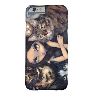 """""""Il est tout cas de l'iPhone 6 au sujet de chats"""" Coque Barely There iPhone 6"""