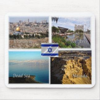 IL Israel - Jerusalem Tel Aviv - Mouse Pad