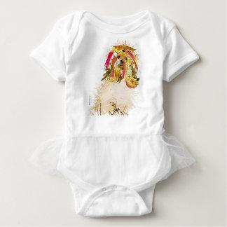 Il Love Lhasa apso Baby Bodysuit