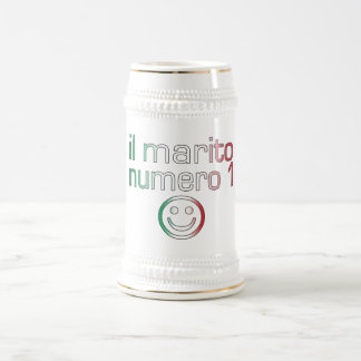 Il Marito Numero 1 - Number 1 Husband in Italian Beer Stein