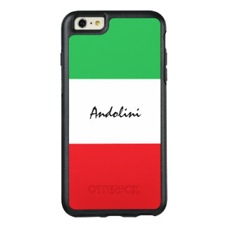 Il Tricolore Italian Flag Phone Case with Name