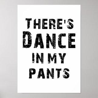 Il y a danse dans mon pantalon poster