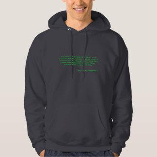 Il y a également un côté négatif sweatshirt à capuche