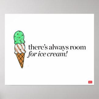 Il y a toujours pièce pour la crème glacée