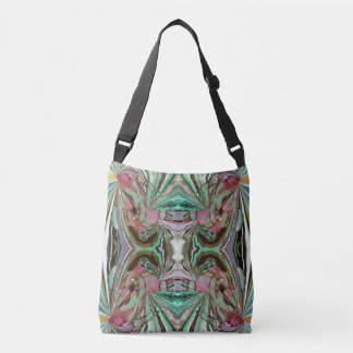 Iland Temple Abstract Crossbody Bag