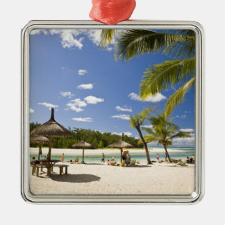 Ile Aux Cerf, most popular day trip for 3 Metal Ornament
