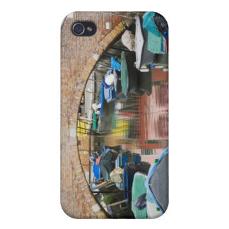 Île de Burano, Burano, Italie. Coloré Coques iPhone 4