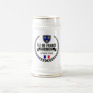 Île-de-France Beer Stein