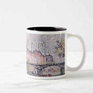 Ile de la Cite, Paris, 1912 Two-Tone Mug