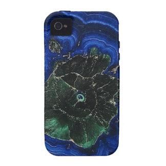 Île de malachite d'azurite coque iPhone 4/4S