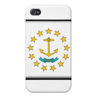 Île de Rhode Coques iPhone 4