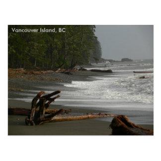 Île de Vancouver de bois de flottage, AVANT JÉSUS Cartes Postales