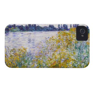 Île des fleurs sur la Seine près de Vetheuil Étuis iPhone 4