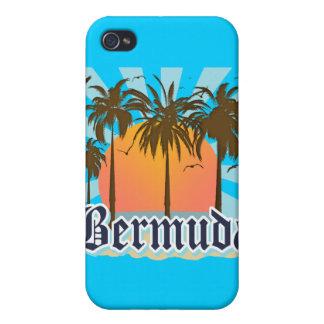 Île des souvenirs des Bermudes Coque iPhone 4 Et 4S