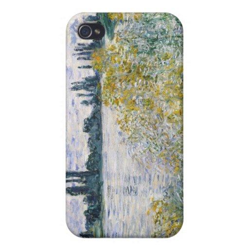 Île Fleurs aux. près de Vétheuil - Claude Monet iPhone 4 Case
