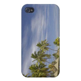 Île-hôtel de plantation, île 4 de Malolo Lailai iPhone 4 Case