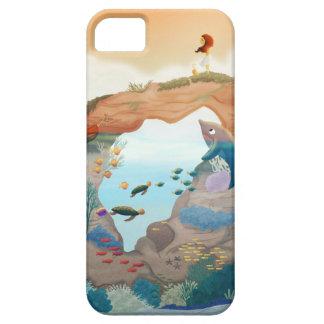 """Île """"paradis privé """" d'Hawaï Coques Case-Mate iPhone 5"""