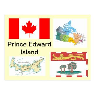 Île Prince Edouard, Canada Carte Postale