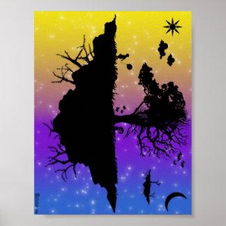 Île rêveuse poster