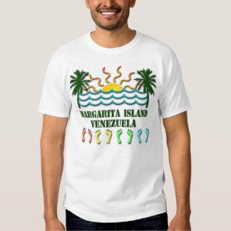 Île Venezuela de margarita Tshirts