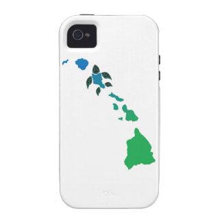 Îles d'Hawaï et tortue d'Hawaï Coque iPhone 4/4S
