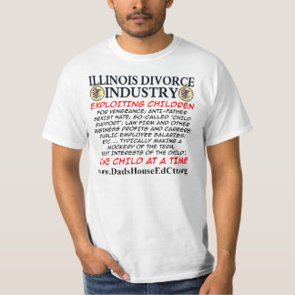 Iliinois Divorce Industry T-Shirt