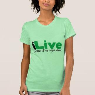 iLive Transplant Tshirts