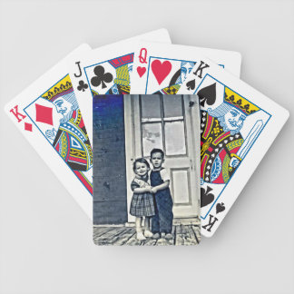 I'll always be there for you… bicycle playing cards