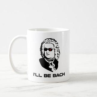 I'll Be Johann Sebastian Bach Classic White Coffee Mug