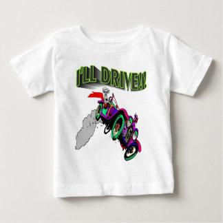 I'll Drive Dog Daredevil Baby T-Shirt