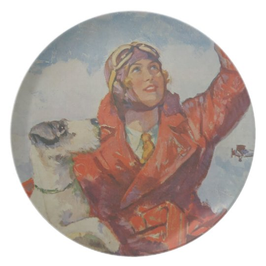 I'll  Fly Away Plate