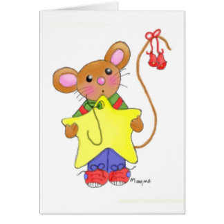 I'll Hang the Highest Star Greeting Card