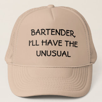 I'll have the unusual trucker hat