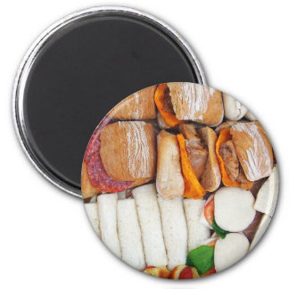I'll Just Have a Sandwich! 2 Inch Round Magnet