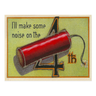 I'll Make Some Noise Postcard