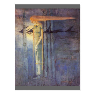 Ill Omen  ( 1893 ) Postcard