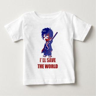 I'll Save The World Samurai Boy Tee Shirt