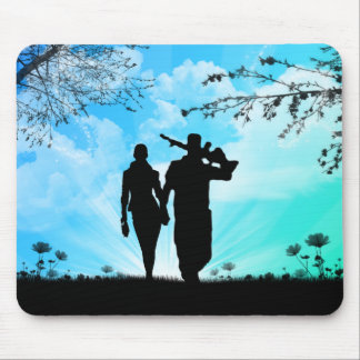 I'll Stand By You Mouse Pad