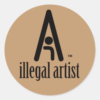 Illegal Artist Stickers