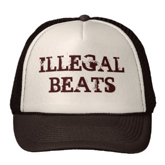 ILLEGAL BEATS TRUCKER HATS