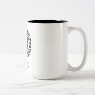 """Illegitimi non carborun... Two-Tone Coffee Mug"