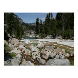 Illilouette Creek in Yosemite National Park Poster