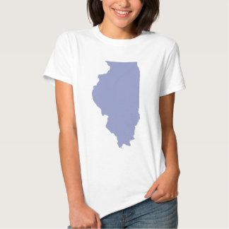 ILLINOIS a BLUE state Shirts