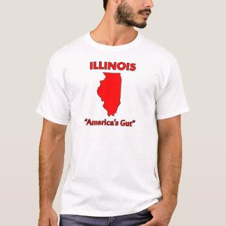 Illinois - America's Gut T-Shirt
