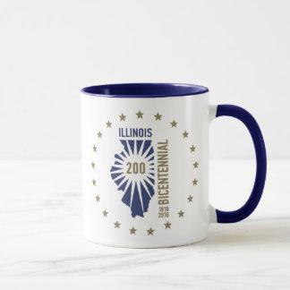 Illinois Bicentennial 1818-2018 Mug