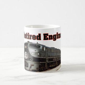 Illinois Central Retired Engineer Coffee Mug
